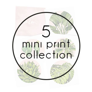 mini print collection print