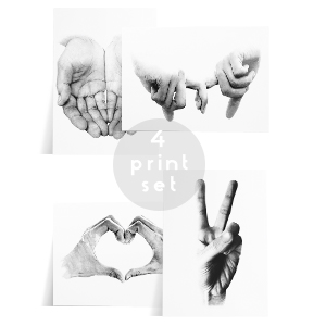 hand collection print
