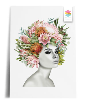 flower-girl-white print